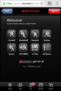 Bovada app