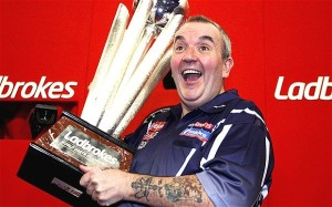 Darts betting on Phil Taylor has proven successful in the past