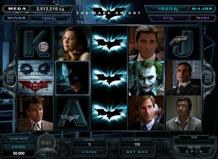 Microgaming's Batman Themed Slot