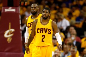lebron and kyrie irving