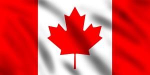 online gambling in canada flag