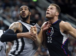 NBA: Los Angeles Clippers at San Antonio Spurs
