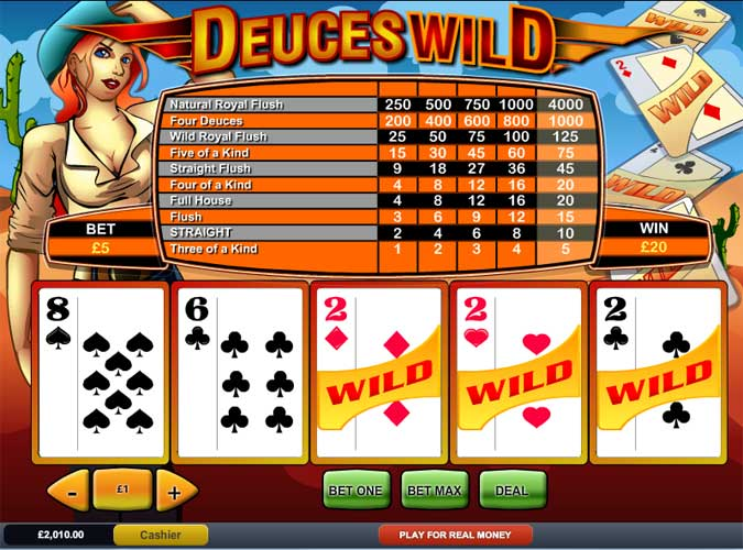 deuces-wild-paytable
