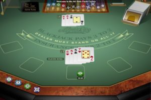 microgaming classic blackjack table