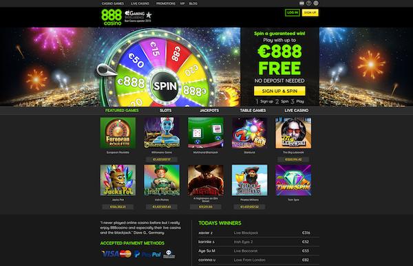 888 new website