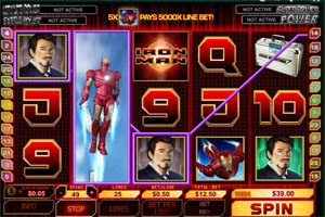 iron man playtech slot