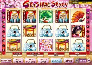 geisha story slot