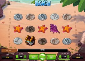 beach slot game
