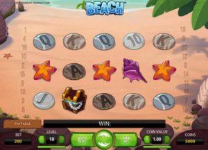 beach slot game