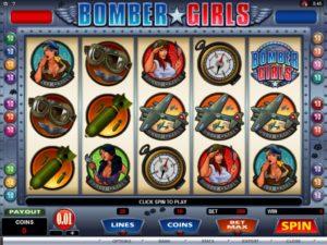 bomber girls slot