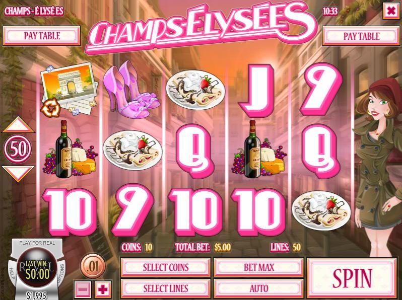 champs elysees slot