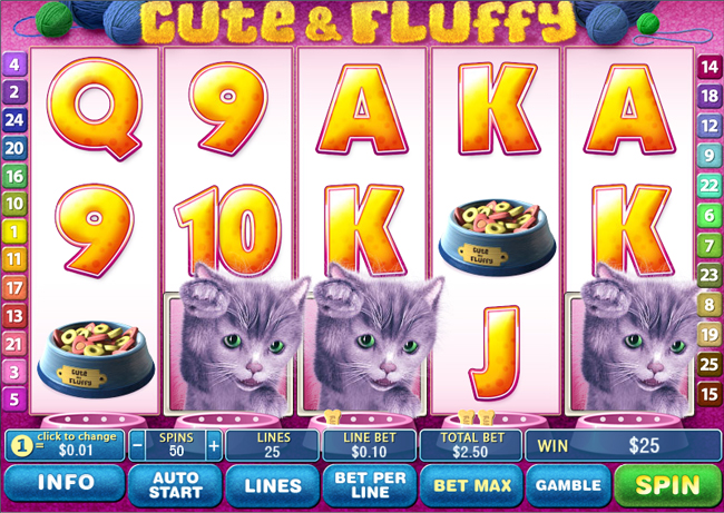 cute and fluffy slot