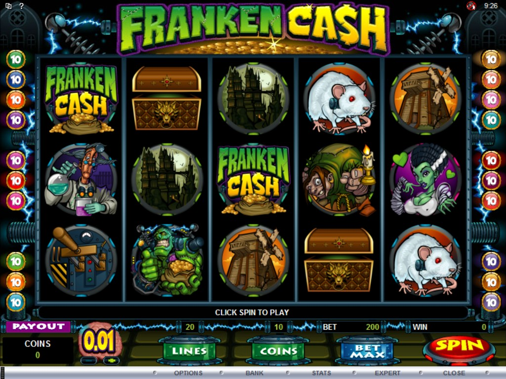 frankencash slot