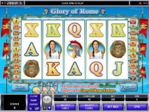 glory of rome slot