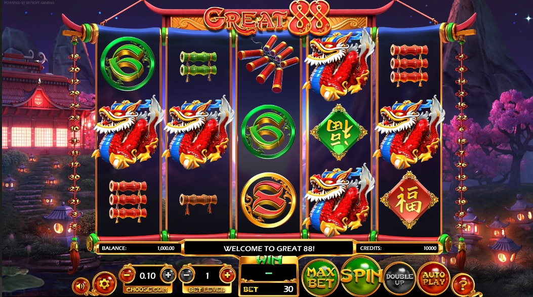 Great88 No Download Slot Game Review