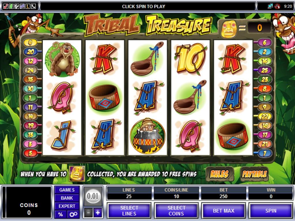 Tribal Treasure Slot