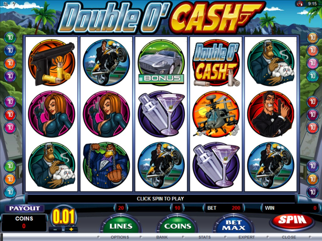 double o cash slot