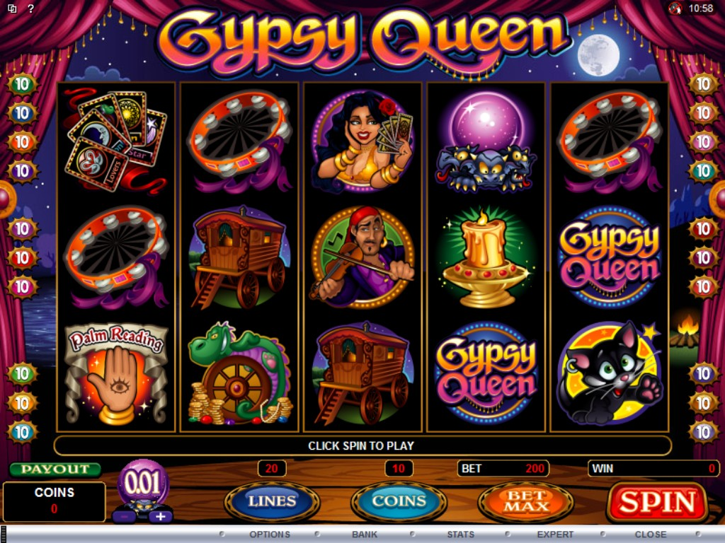 gypsy queen slot