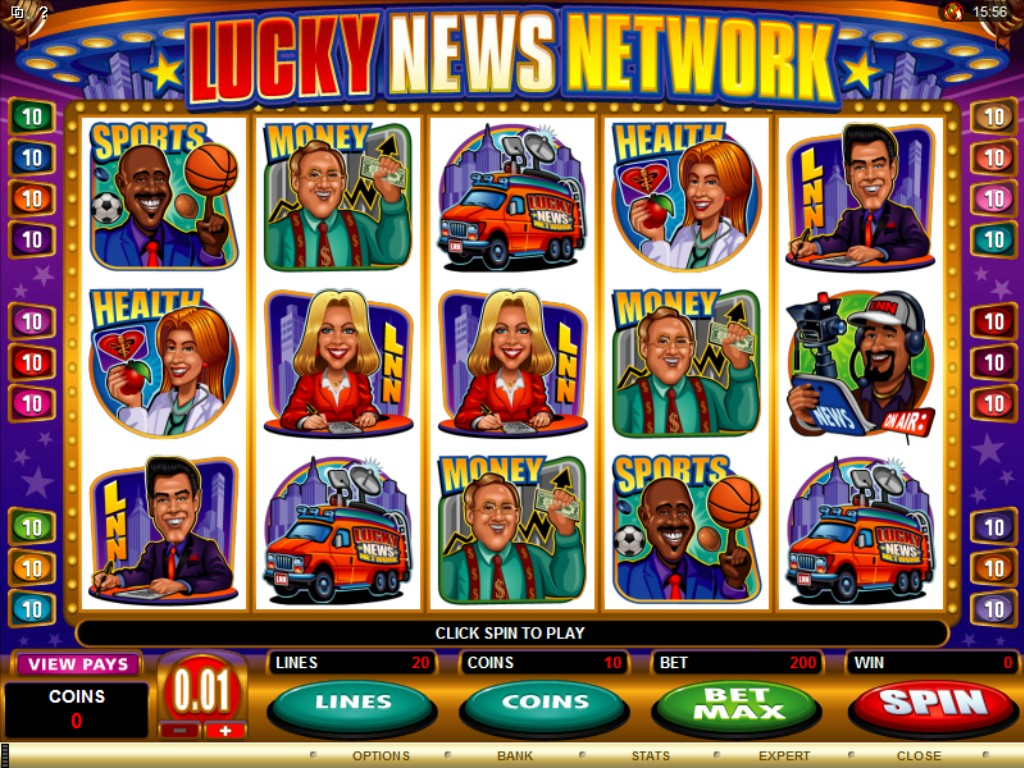 lucky news network slot review
