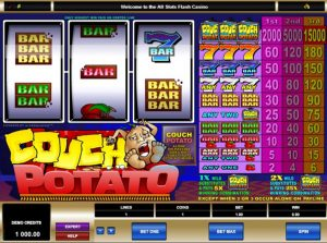 Couch Potato the Most Played Online 3 Reel Slot - Online