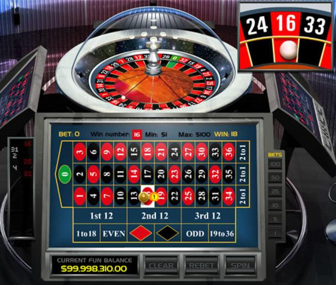 Casino automated roulette