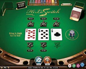 Основные игры Hi Low в казино